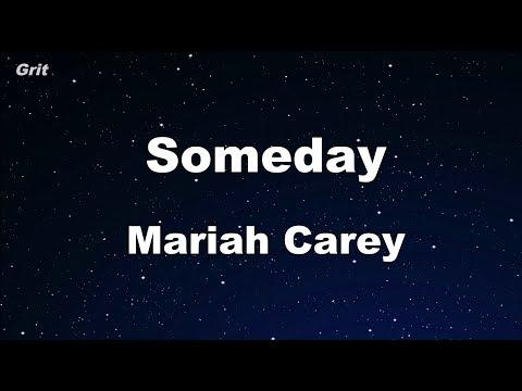 Someday - Mariah Carey Karaoke 【No Guide Melody】 Instrumental