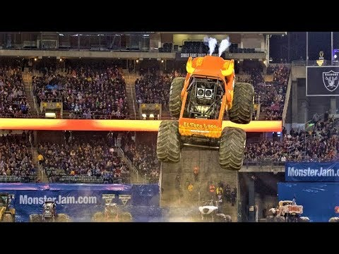 Monster Jam Oakland 2018 Show 2 Highlights!!!