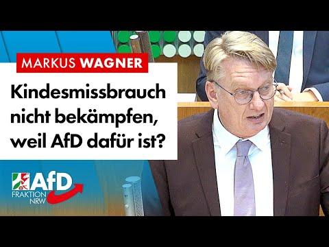 Kindesmissbrauch nicht bekämpfen, weil AfD dafür ist? – Markus Wagner (AfD)