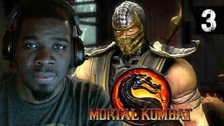 Mortal Kombat 9 Gameplay Walkthrough Part 3 - Scorpion - Lets Play Mortal Kombat 9