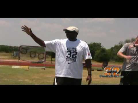 BAM PR AND MARKETING.COM-CEDRIC BENSON FOOTBALL CAMP/COMBINE