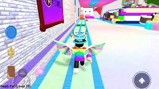 How to get the Rainbow wings in the Roblox Next-Gen event