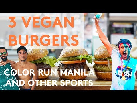 3 EASY VEGAN BURGER RECIPES (WORKOUTS AND THE NEED FOR PROTEIN)