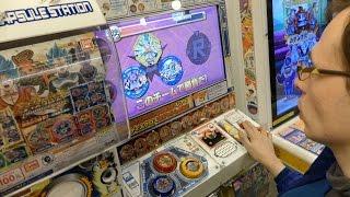 #2 [Dragon Ball Discross] Gashapon x 3 + Arcade Gameplay, DiverCity Tokyo