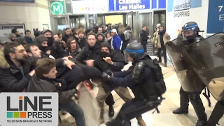 Manifestation Théo sous tension / Paris - France 10 février 2017