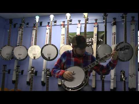 Recording King RK 76 Banjo Video