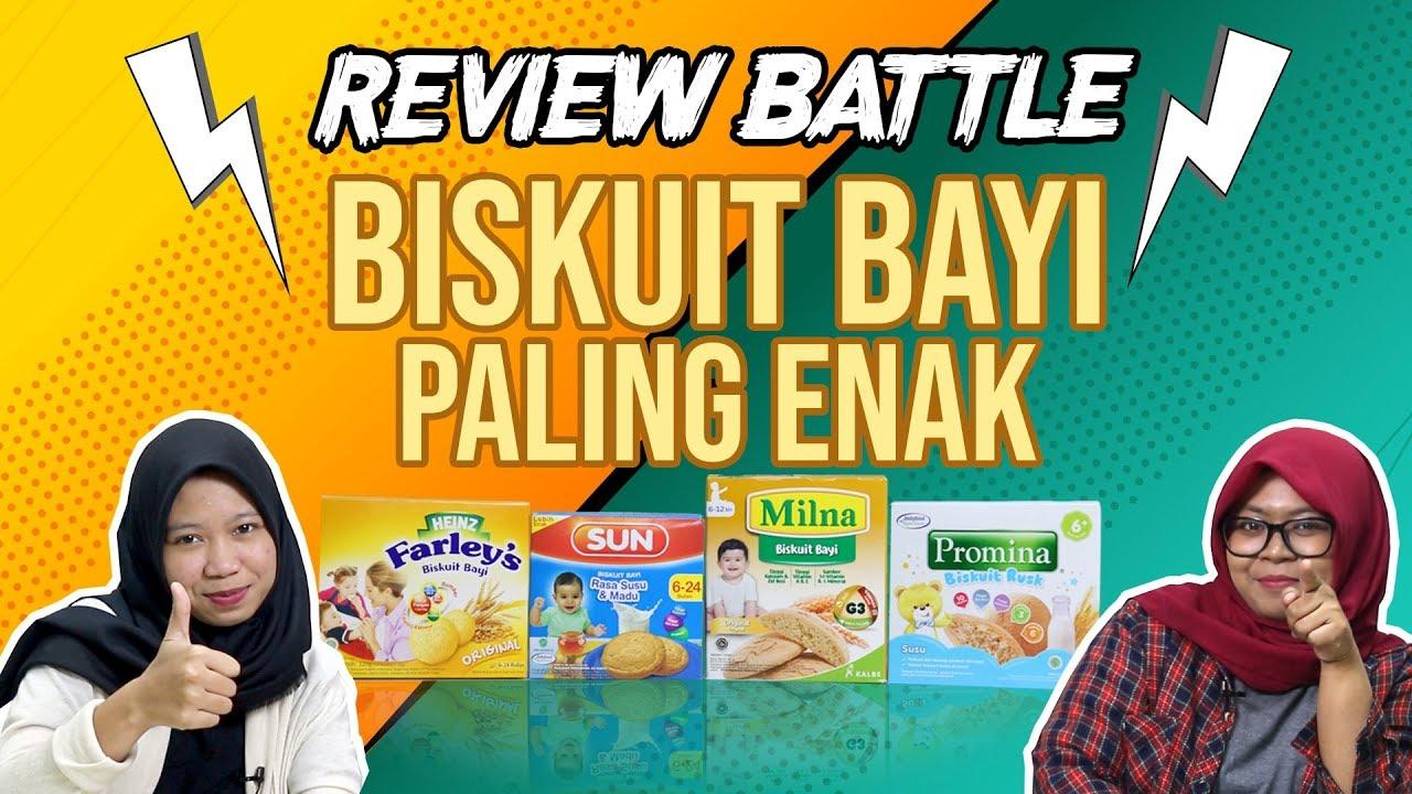Review Battle Biskuit Bayi Paling Enak Youtube