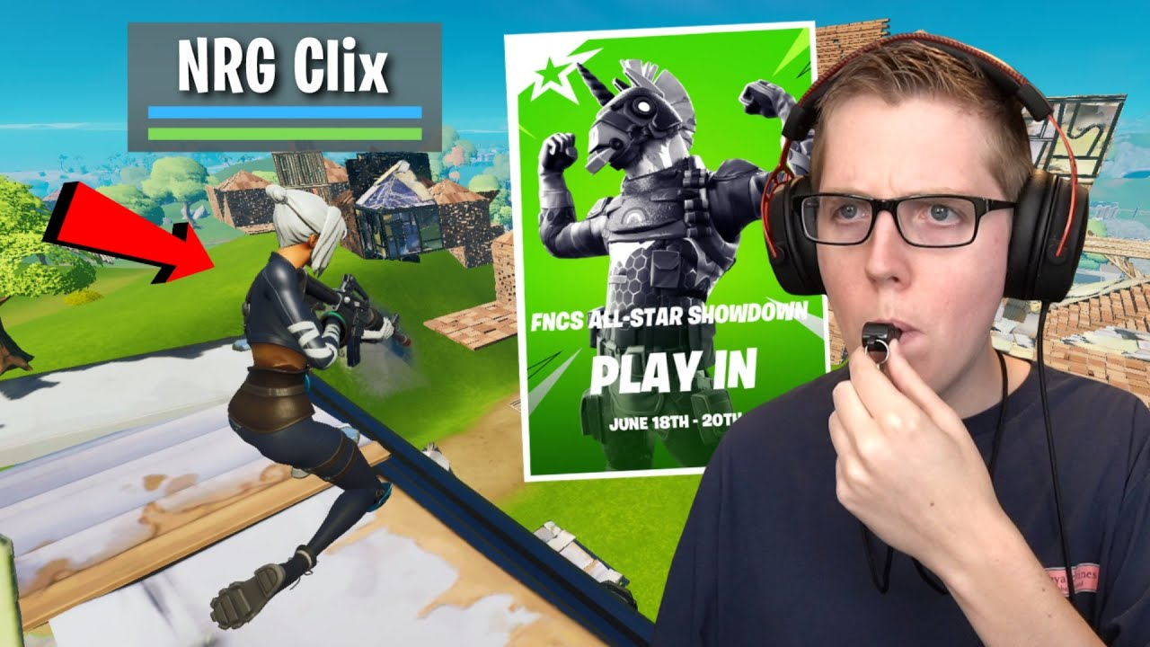 I Coached An UNDERRATED Pro In FNCS All-Stars! - Fortnite Battle Royale