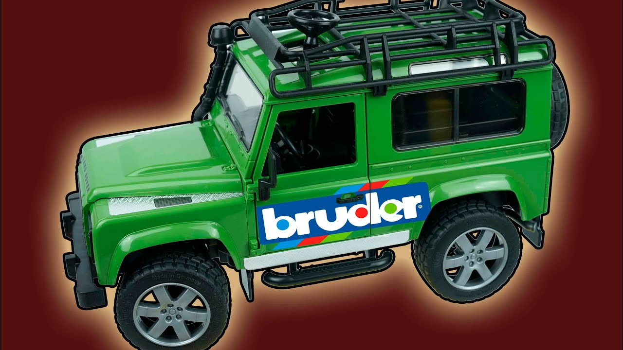 car kids bruder land rover defender jeep review of toys for kids en youtube