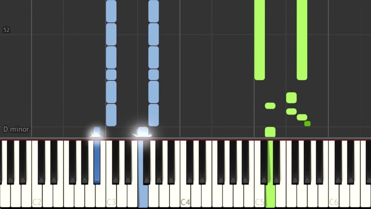 Megalovania piano tutorial - slow