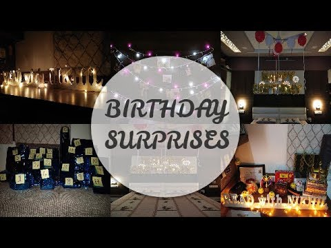How To Surprise Your Boyfriend On His Birthday Room Decoration Ideas