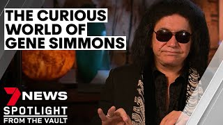 The curious world of Gene Simmons - behind the shades of the KISS star | 7NEWS Spotlight