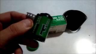TASMA100 SUPER. Обзор отечественной  ЧБ фотоплёнки.