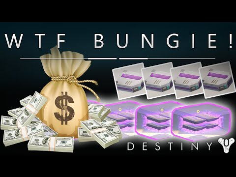 WTF BUNGIE!? Buying Heavy Ammo Synthesis / Packs With Silver / Real Money - New Microtransactions?