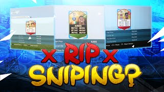 FIFA 16 SNIPING IS GONE?!