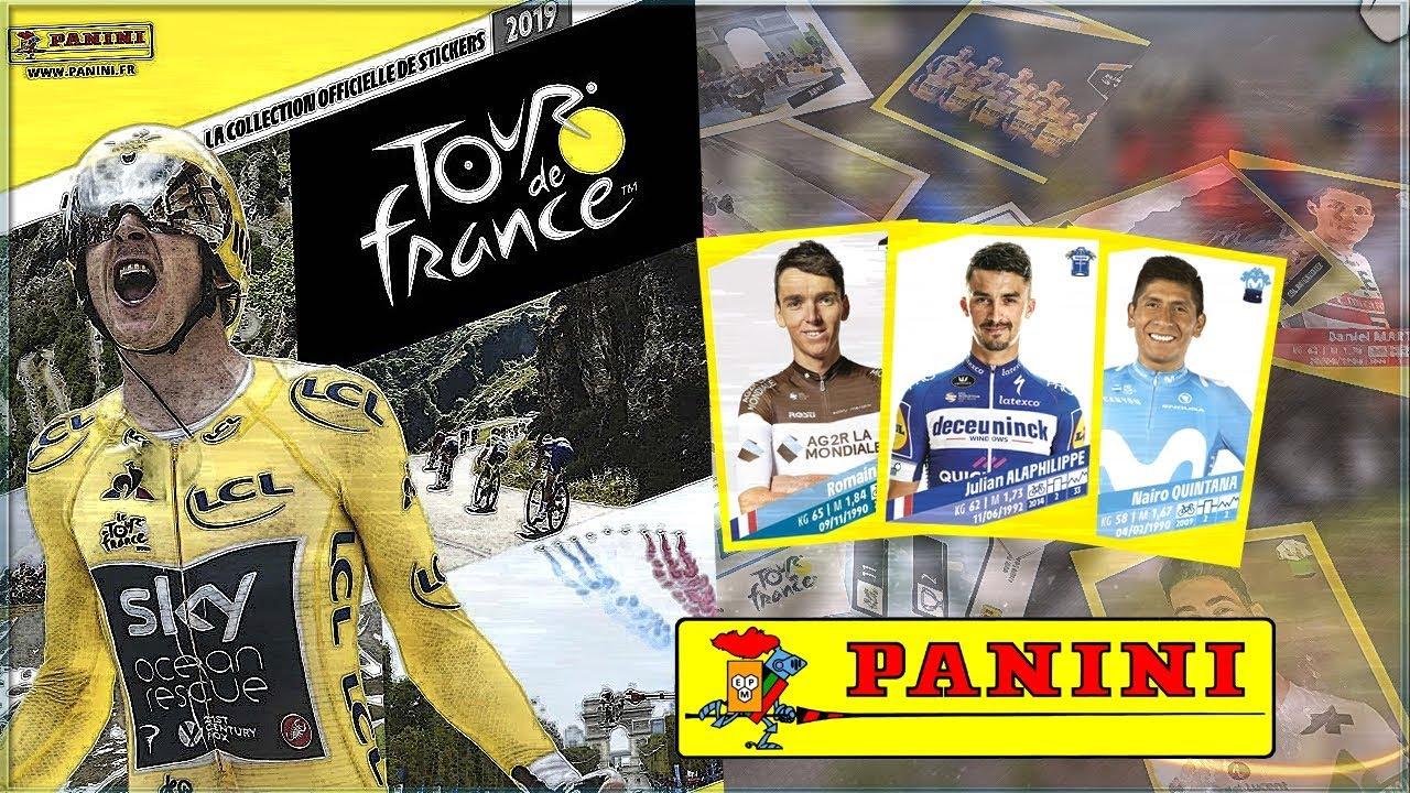 Panini Tour De France Stickers