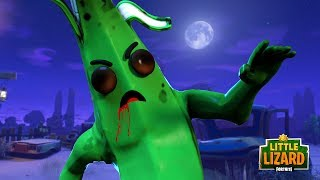 PEELY TURNS INTO A ZOMBIE!!! - Fortnite Short FIlms