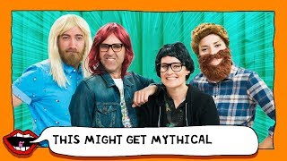 RHETT AND LINK BODY SWAP with Grace Helbig & Mamrie Hart