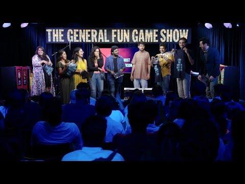 THE GENERAL FUN GAME SHOW SEASON 2 FINALE!  Prashasti S, Sahil S, Manish A, Varun G, Aishwarya M