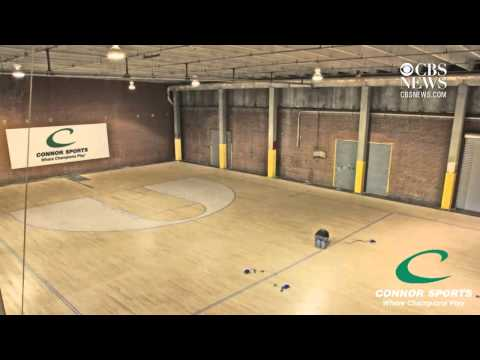 Time Lapse: Building an NCAA Final Four court