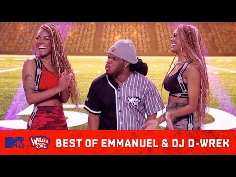Best Of Emmanuel Hudson vs. DJ D-Wrek  What Started The Beef? | Wild 'N Out