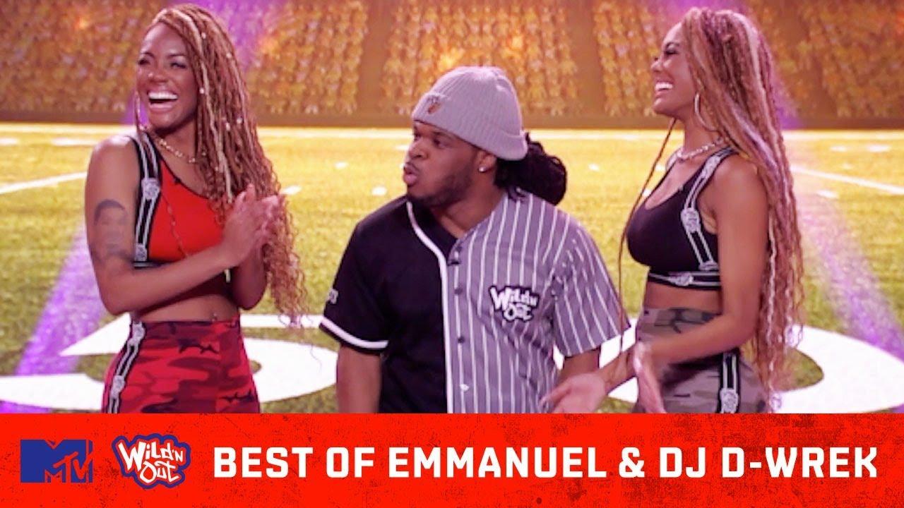 Best Of Emmanuel Hudson vs. DJ D-Wrek ???? What Started The Beef? | Wild 'N Out