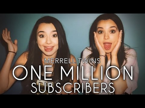 ONE MILLION SUBSCRIBERS  Merrell Twins Music