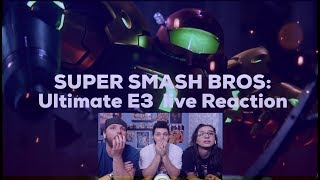 Supers Smash Bros: Ultimate E3 live Reaction!!!
