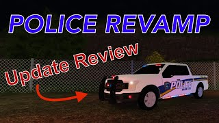 ER:LC Police Update Review! (Roblox Liberty County)