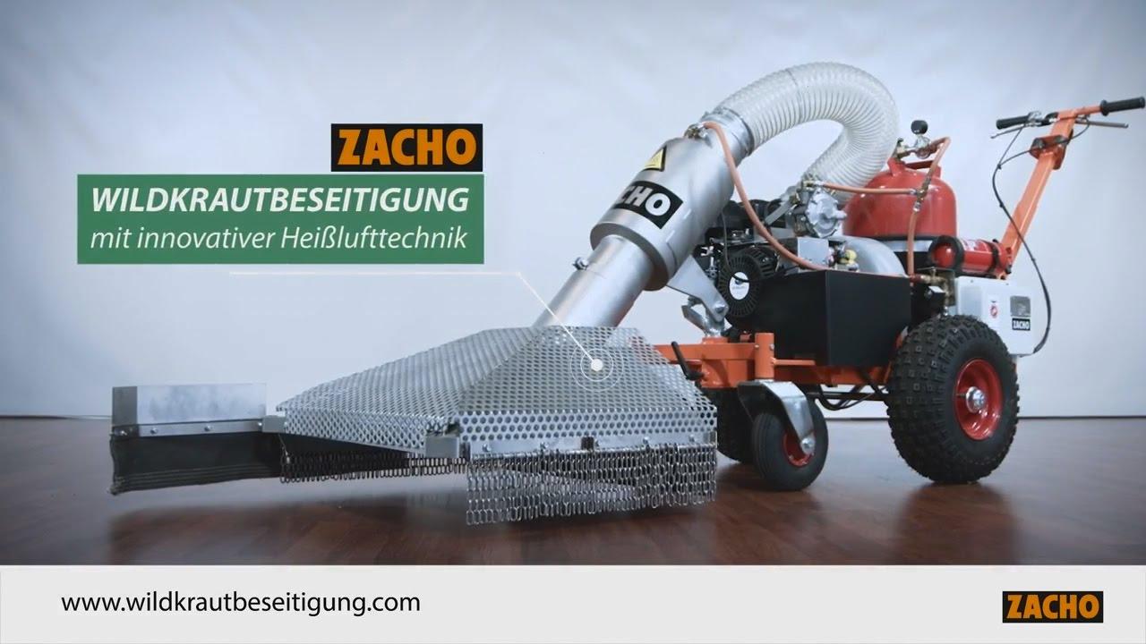 Sehr Zacho UKB 650 thermische Wildkrautbeseitigung - YouTube SS48