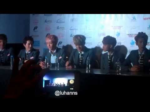 130907 [HD FULL] EXO-K Kpop Rep Manila Press Con fancam from YouTube · Duration:  4 minutes 14 seconds