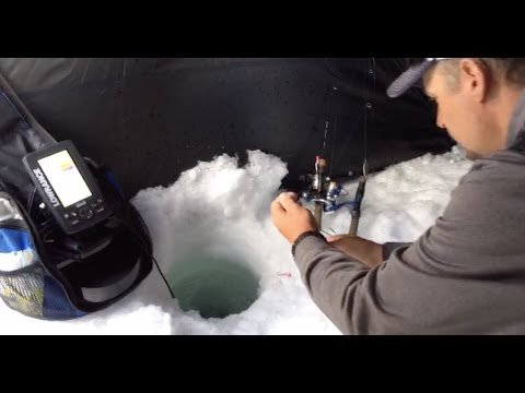 LIVE - No Editing! Ice Fishing for Trout on Lake Dillon Colorado!
