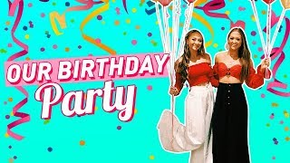 Our Birthday Party (BTS) | The Rybka Twins