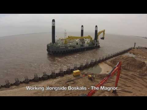 First Dredging Job for the Magnor - WM Plant Hire