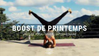 Boost de printemps - Vinyasa Yoga Intermédiaire - Yogaée on the road