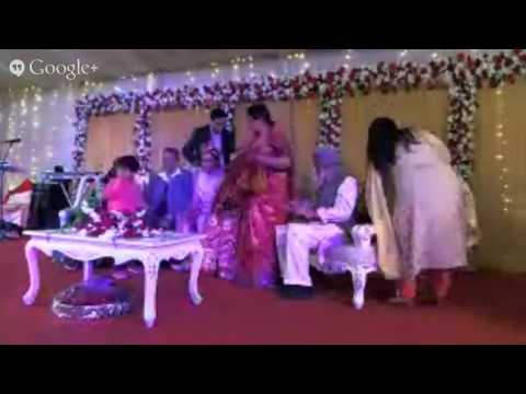 Live streaming of Sunvee Borsha's wedding Reception January, 09 2015