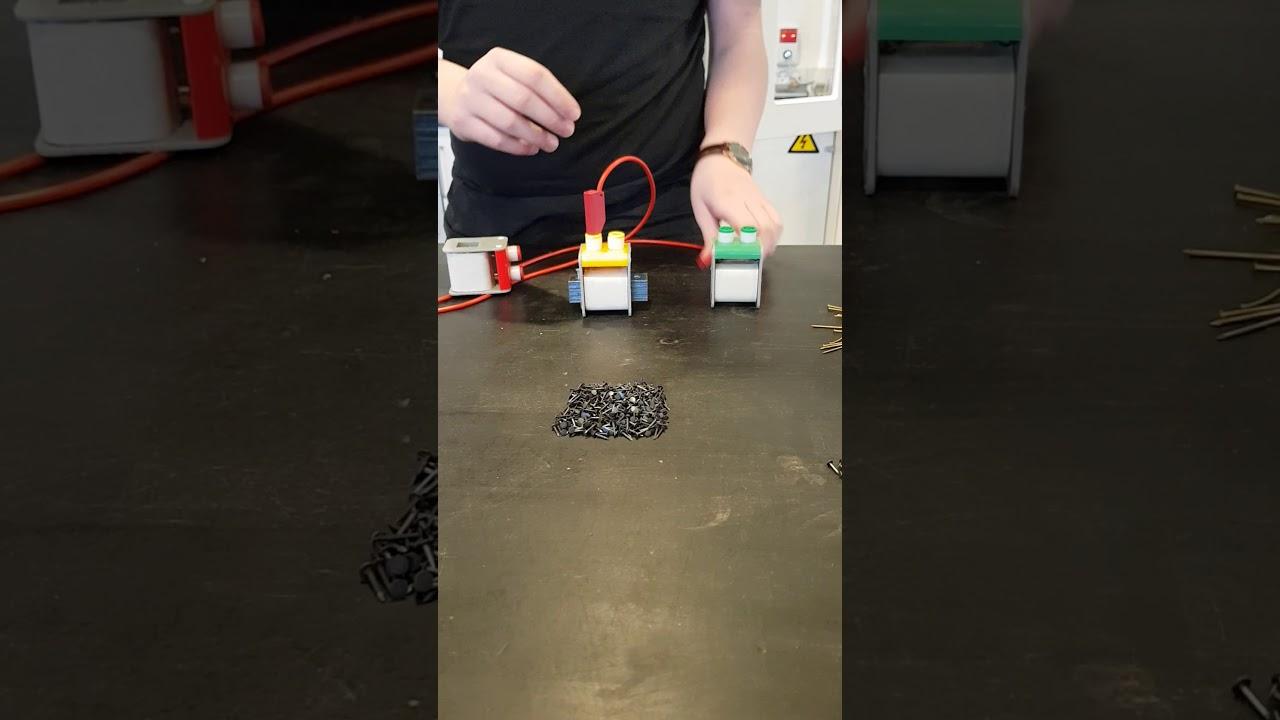 Fysik elektromagnetisk kran