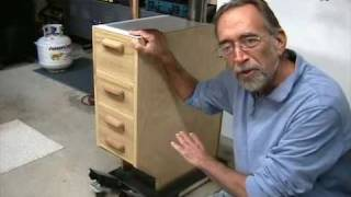 The Down To Earth Woodworker - Drill Press Cabinet