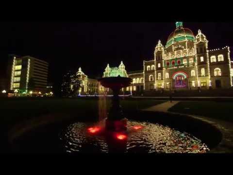 Christmas Lights in Victoria, B.C.