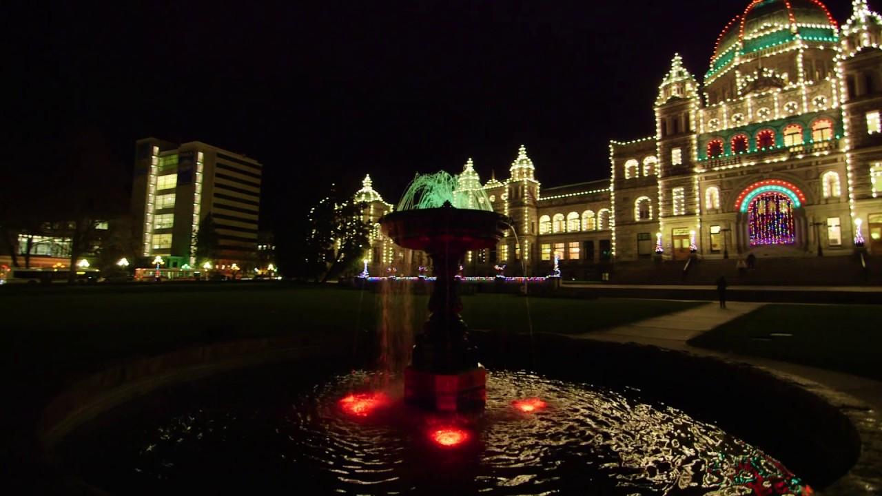 Christmas Lights In Victoria B C