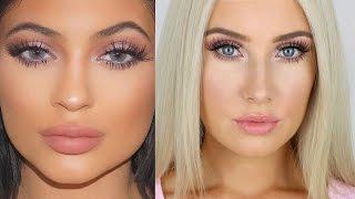 kylie jenner inspired makeup tutorial   lauren curtis