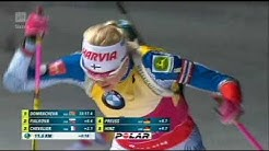 Ampumahiihdon maailmancupin 2018 voitto ratkeaa Kaisa vs Kuzmina