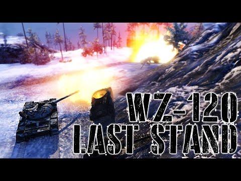 World of Tanks // WZ-120 // Arctic Region // Last Stand