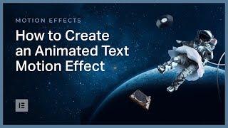 Elementor Animasyonlu Metin Efekti Oluşturmak için Nasıl gelişmiş Öğretici: