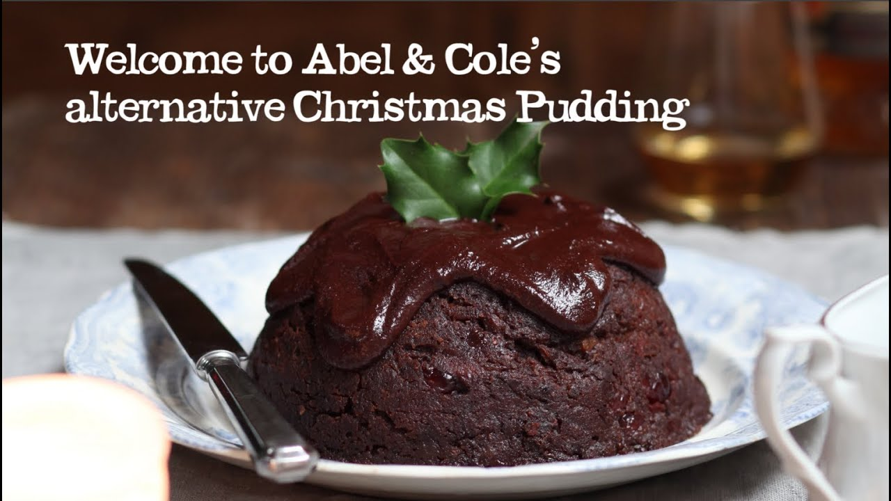chocolate & cognac christmas pudding | abel & cole - youtube