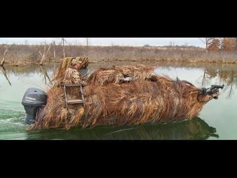 G3 1860DK and Bustem Blind for Ducks
