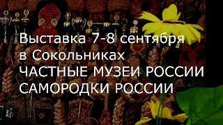 С.В. Савельев. Частные музеи России, самородки России, Сокольники, сентябрь 2019 г.