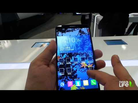 Alcatel One Touch Hero Hands-On (Greek)