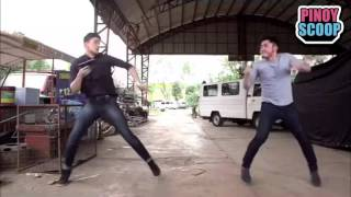 Rayver Cruz And Arron Villaflor In Dance Showdown