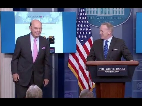 Thumbnail: Apr 25, 2017 Sean Spicer White House Press Briefing-Full Event